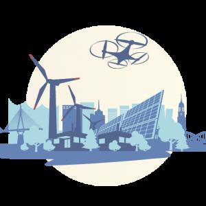 Drohnen sind in naher Zukunft wichtige Helfer bei der Automatisierung des Obstanbaus.