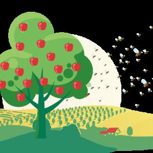 Nistkästen für Bienen tragen zur Nachhaltigkeit bei.